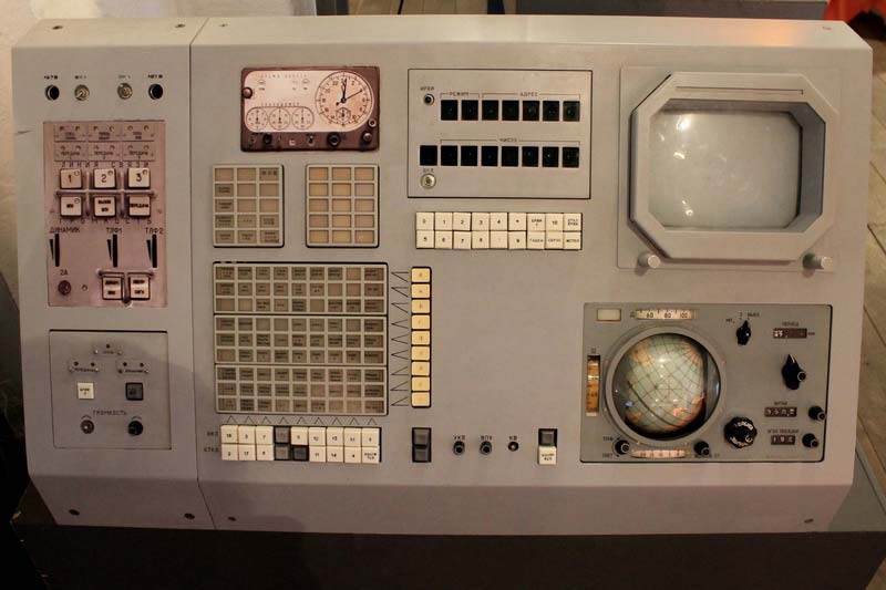 пульт управления космическим кораблем