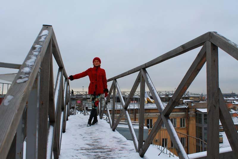 прогулка по крышам петербурга