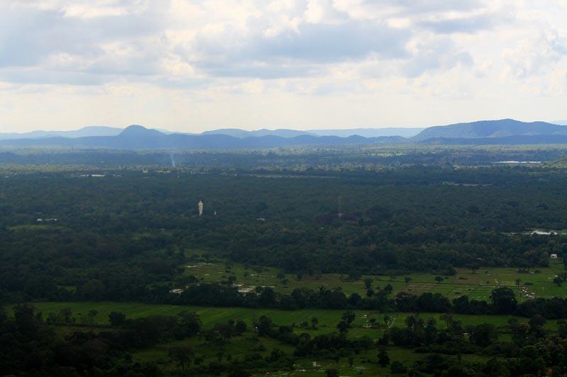 сигирия фото с горы