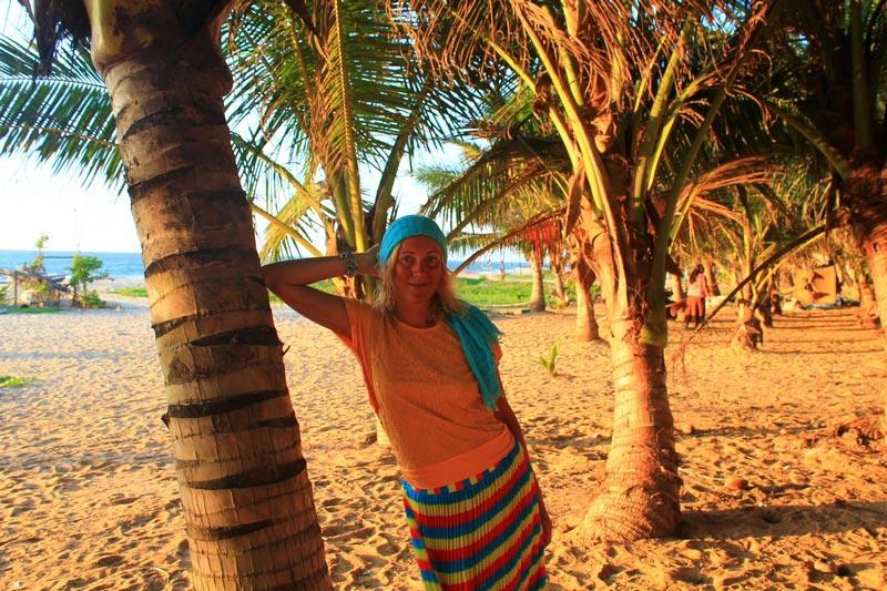пляж в негомбо 3