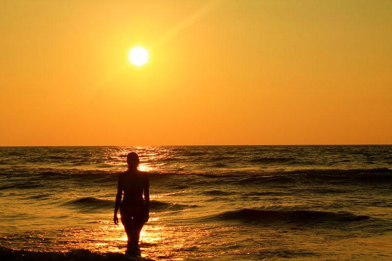 негомбо пляж