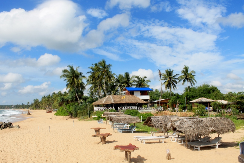 пляж в тангалле фото
