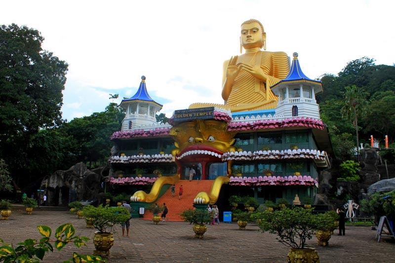 золотой храм дамбулы фото 3