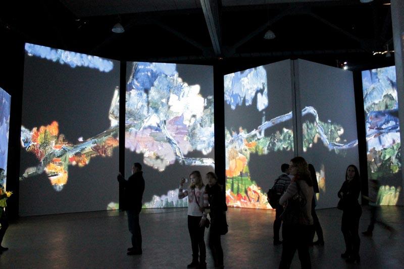 видео выставка имприссионистов