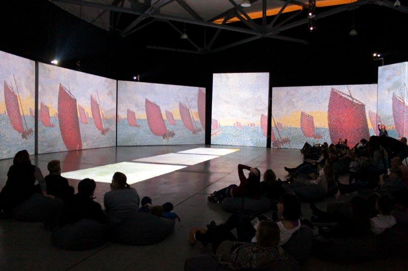 видео выставка картин