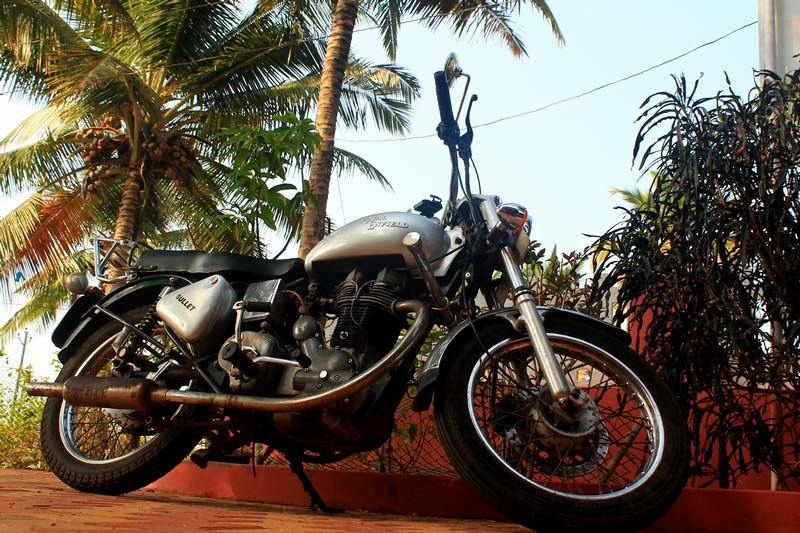 мотоцикл-роял-эндфилд