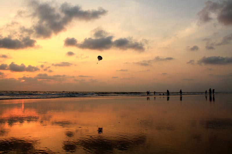 5 фото закат в море