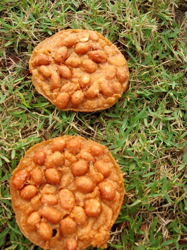 3 ореховые печенья