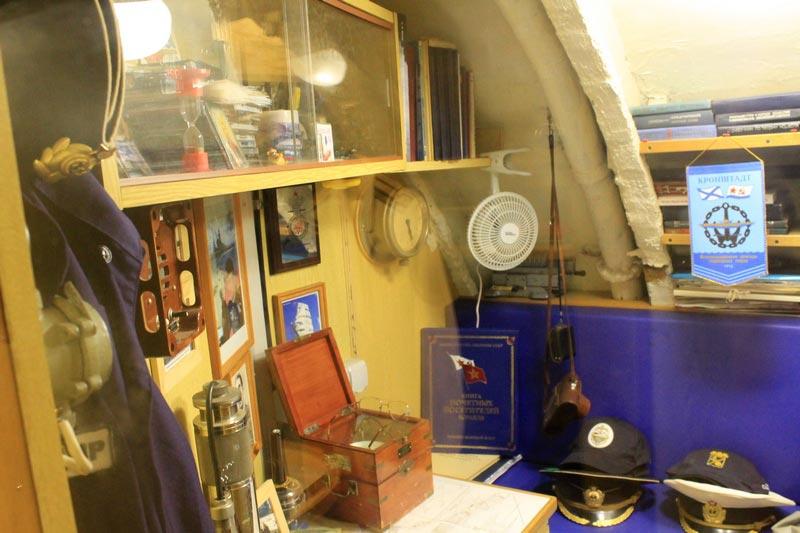командный пункт подводной лодки 613