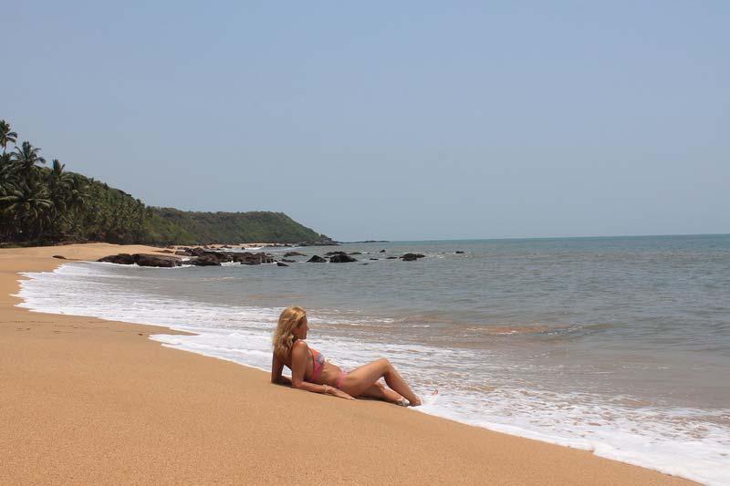 Пляж-кола-агонда