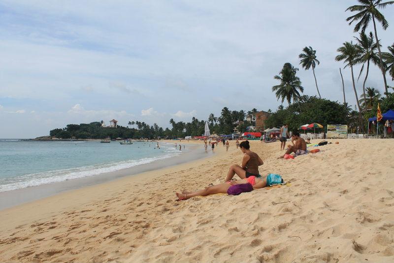 пляж унувантуна утром