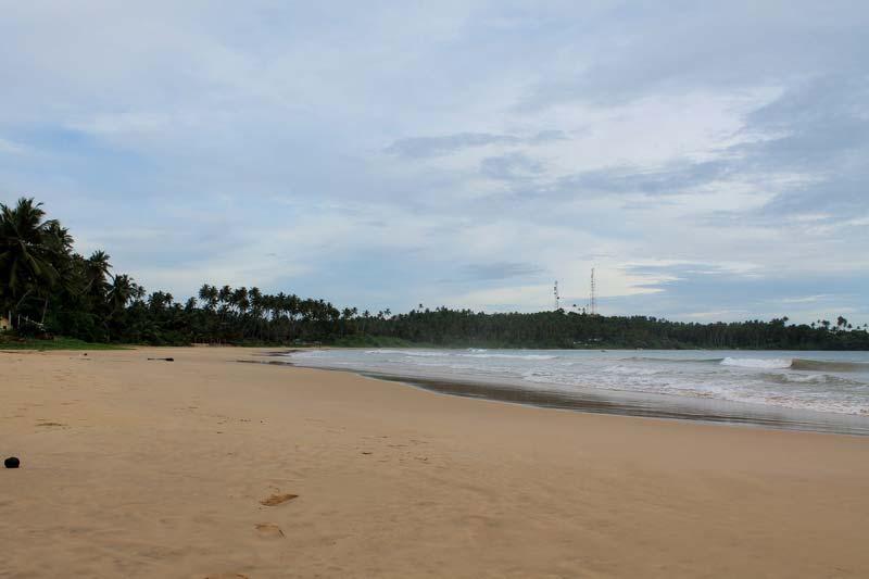 пляж в диквелле