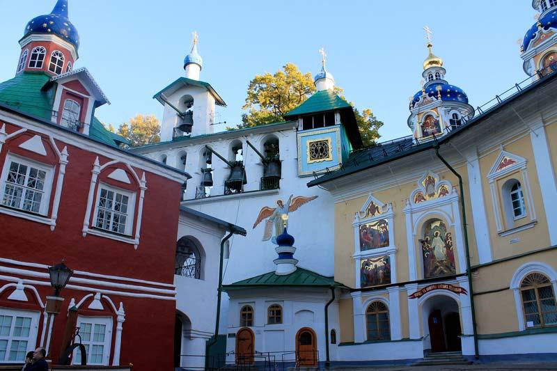 39 красочный собор разноцветный