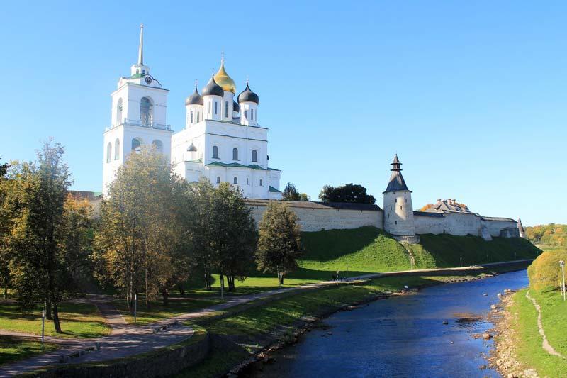 41 купола псковского кремля