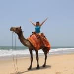 9-пляж-верблюд-девушка
