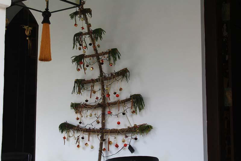 необычная новогодняя елка фото