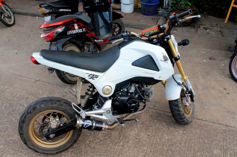 мотоцикл в таиланде honda ms