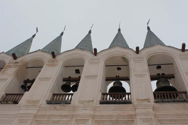 10 звонница Тихвинский Богородичный Успенский монастырь