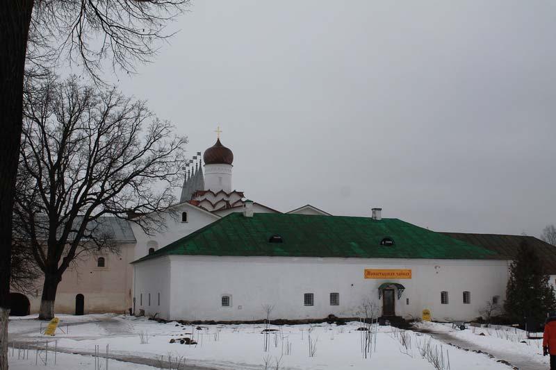 16 чайная тихвинский монастырь фото