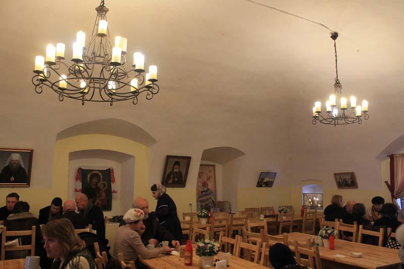 17 фото столовая тихвинский монастырь трапезная