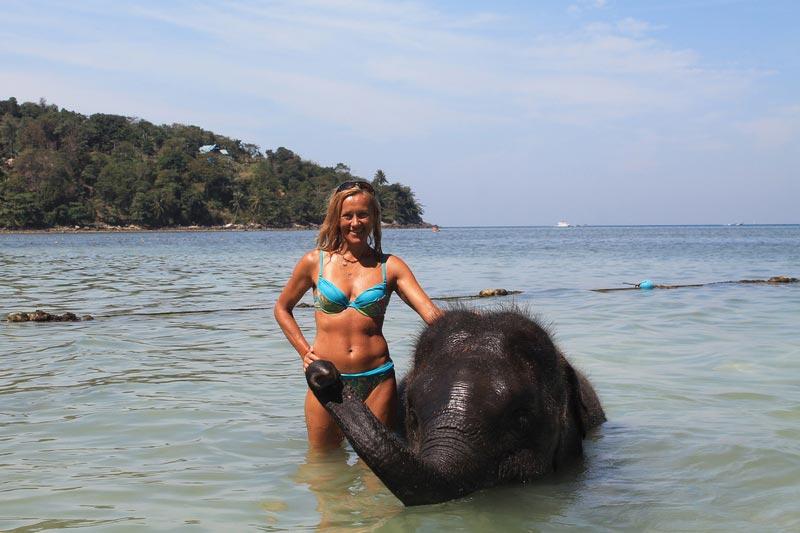 10-купание-со-слоном-таиланд-фото