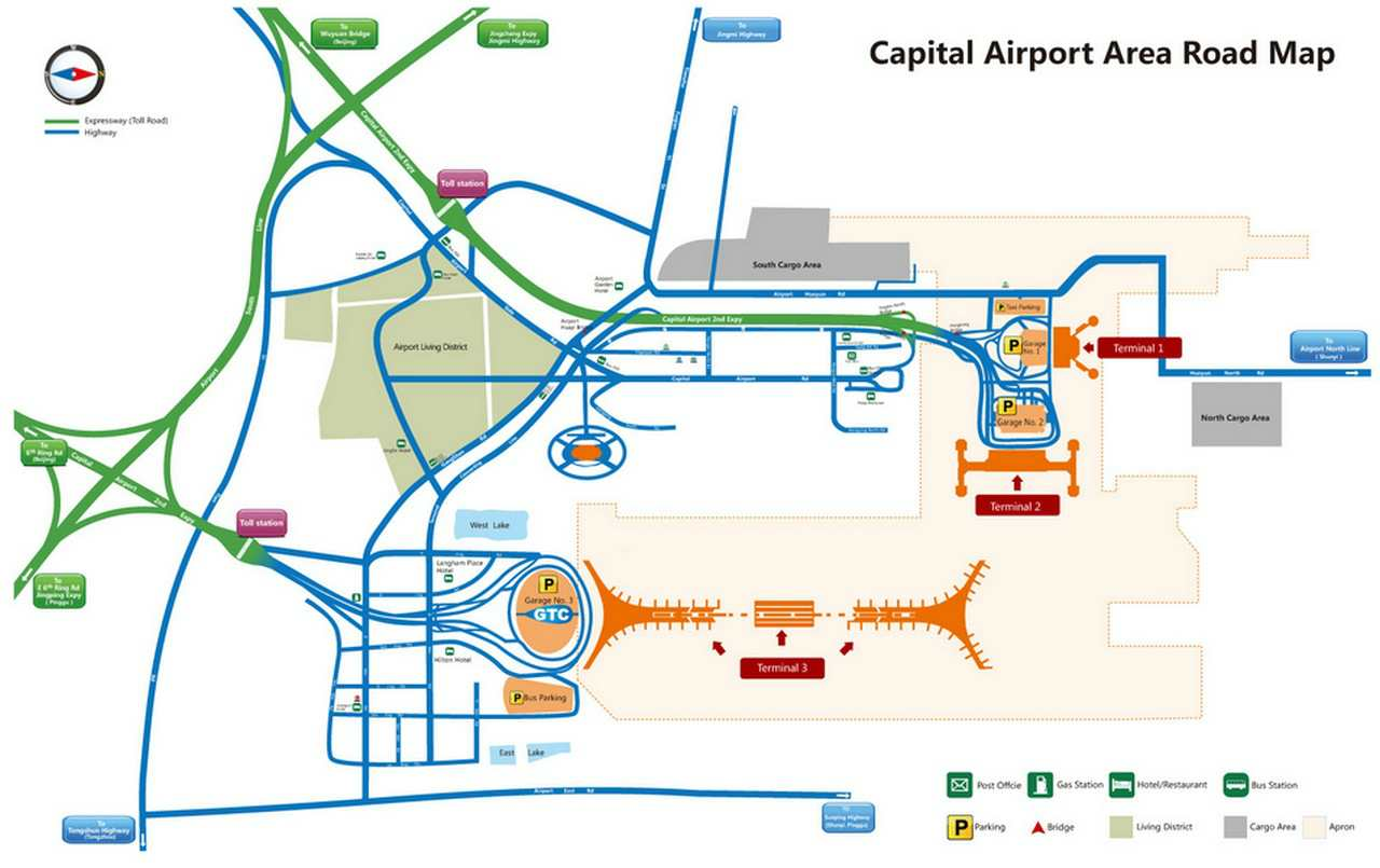 шоуду карта аэропорта пекина