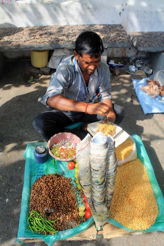 9 индийский фастфуд уличная еда