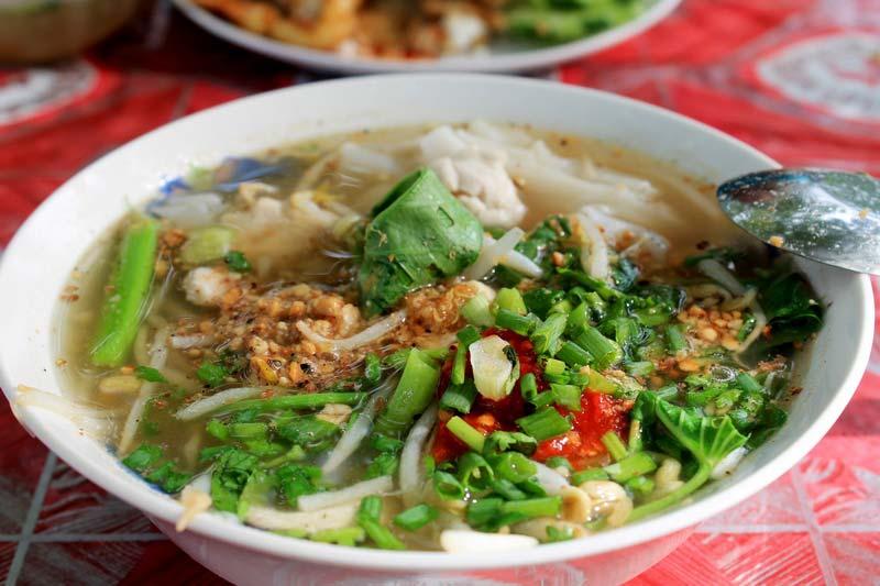 тайский нудл суп