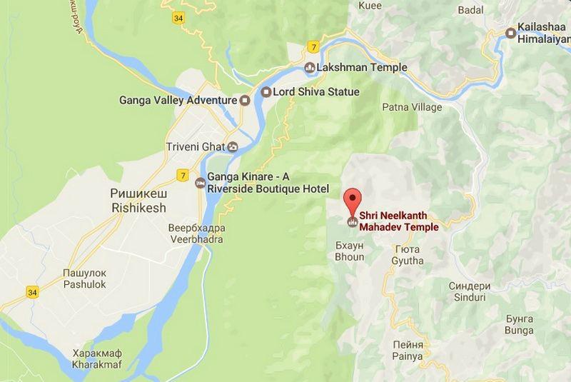 Neelkanth Mahadev maps