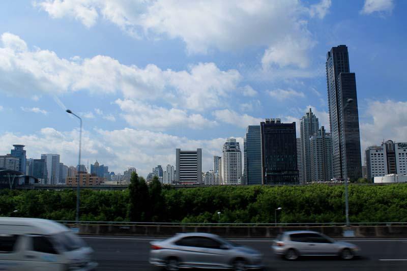 бангкок-небоскребы