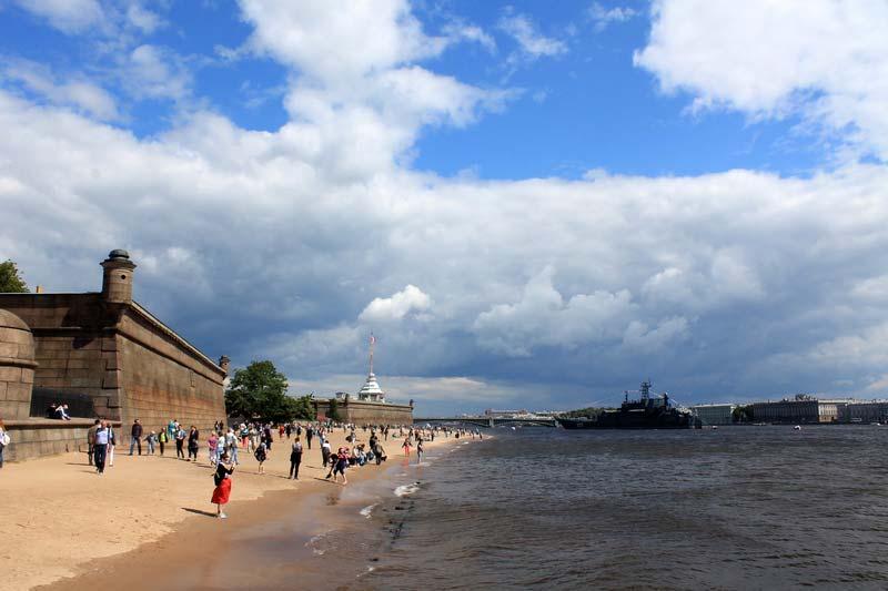 17-пляж-Петропавловская-крепость