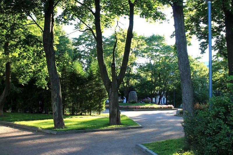 Андреевский сад Кронштадт