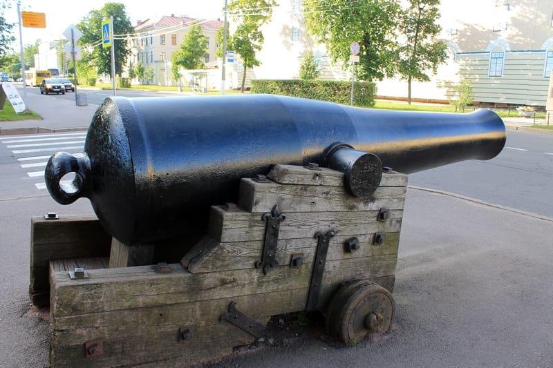 Пушка Кронштадт