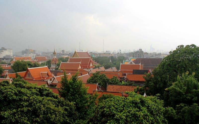 Вид с Каосан на Бангкок