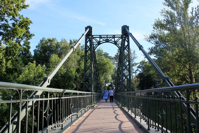 Макаровский мост Кронштадт