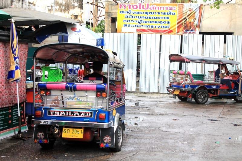 4 Тук тук Бангкок