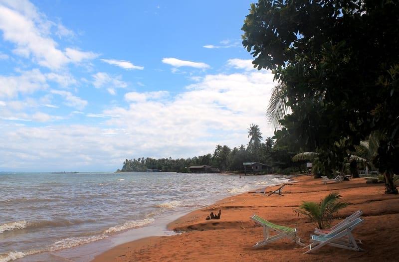 2 пляжи северного ко чанга