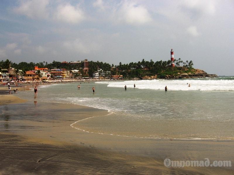 пляж Ковалам керала