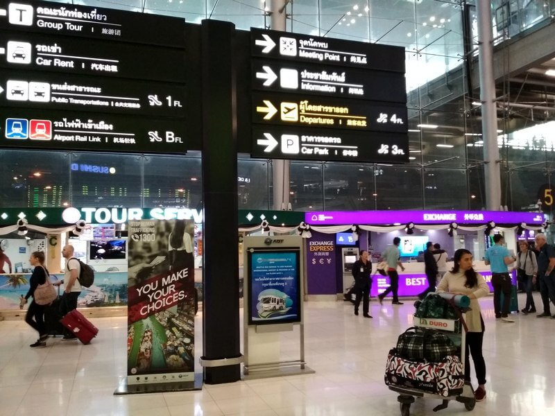 bkk Suvarnabhumi Airport 2