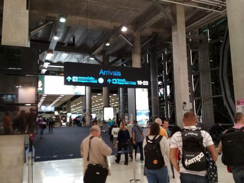 bkk Suvarnabhumi Airport 4
