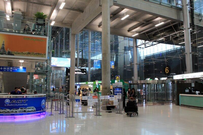 bkk Suvarnabhumi Airport