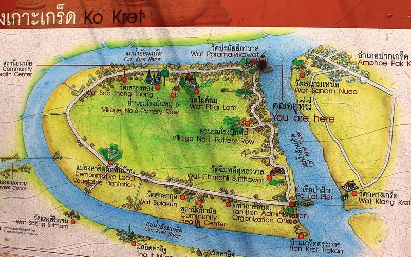 18 Koh Kred Map