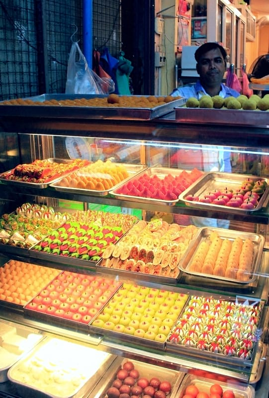1 бангкок индийский квартал сладости