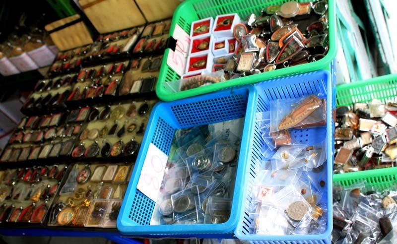 рынок амулетов Бангкок