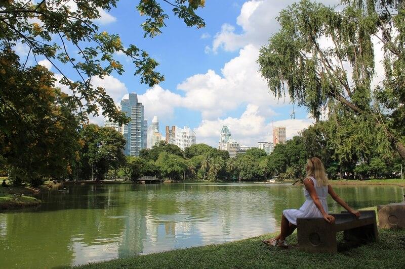Бангкок парк Люмпини