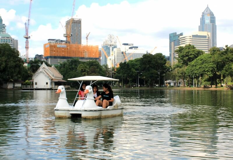 лодки парк Люмпини