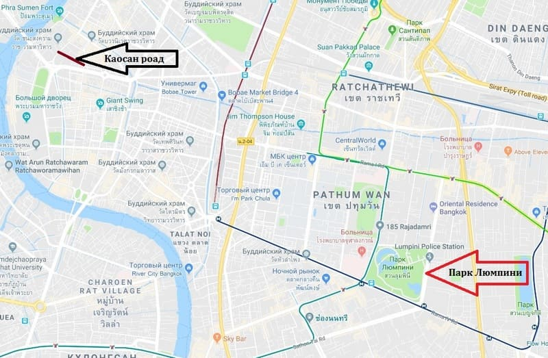 maps Lumphini