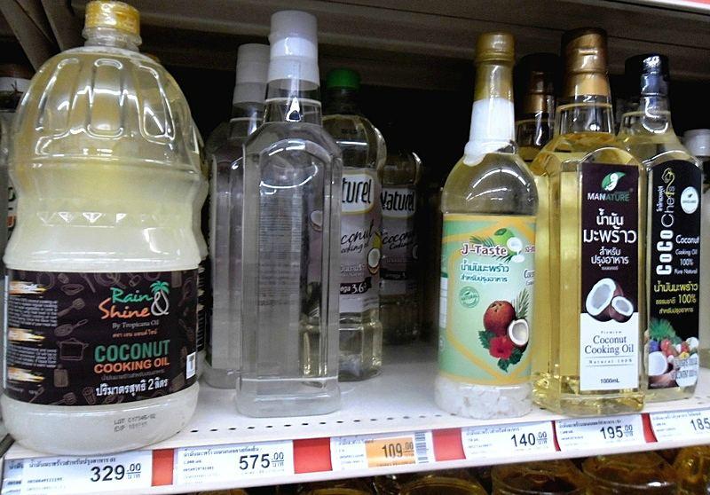 21 кокосовое масло