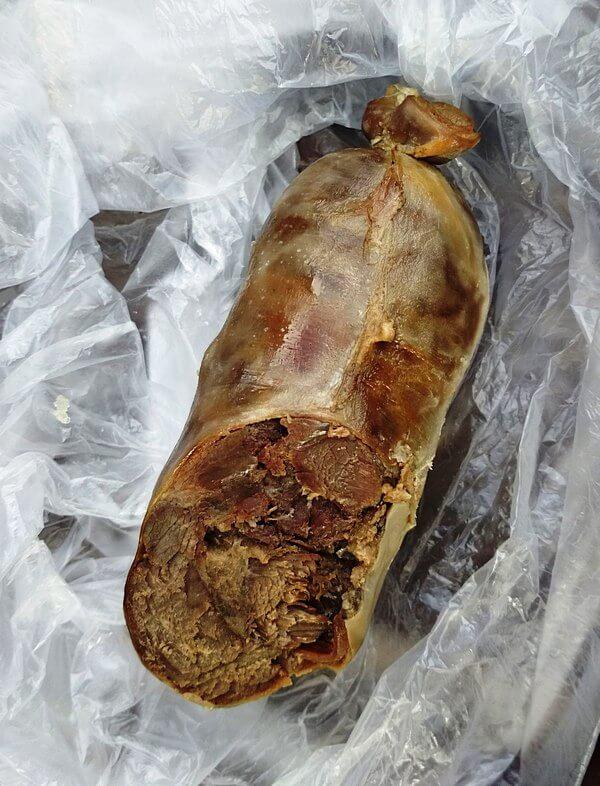 1 конская колбаса