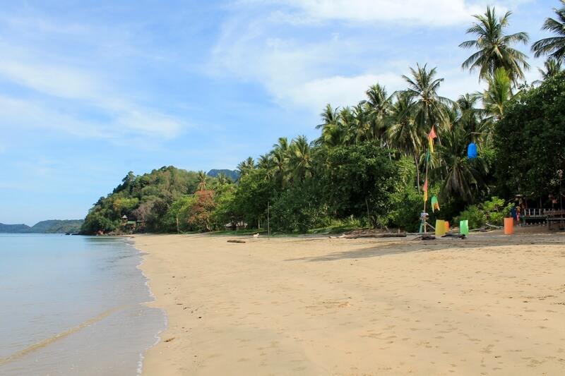 18 остров Ко Джум пляжи